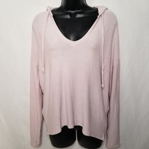 NWT Chaser soft hoodie with detail on sleeve